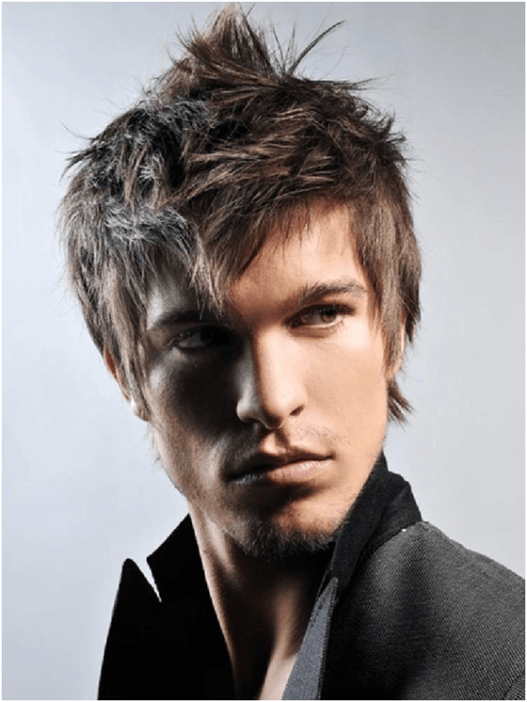 Rough Messy Hairstyles for Men