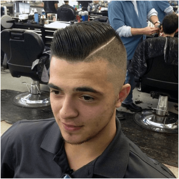 Side Pompadour Hairstyles for Men