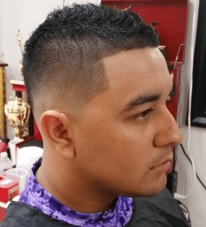 Small Mohawk Short Hairstyle