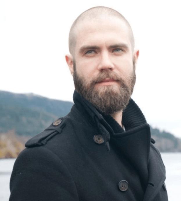 Super Short Haircut with Beard