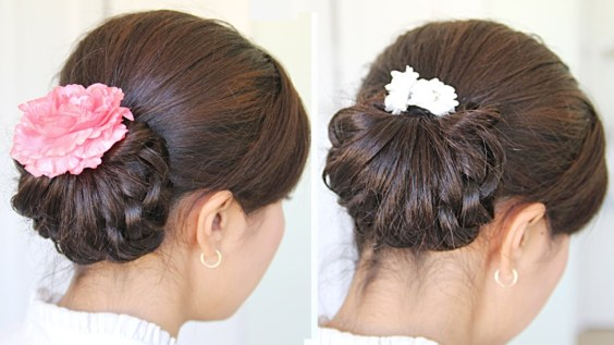 Knotty Hairdo Wedding Hairstyles