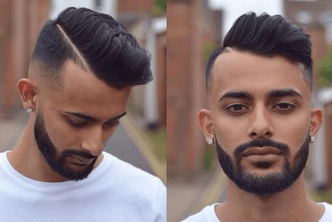 Pompadour Comb Over