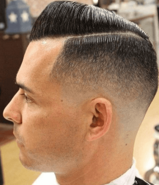 Retro Style fade hairstyle