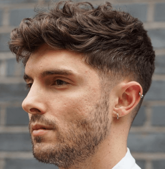 Perfectly Styled Wavy Cut