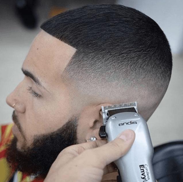 Semi-Bald with Sharp Edges