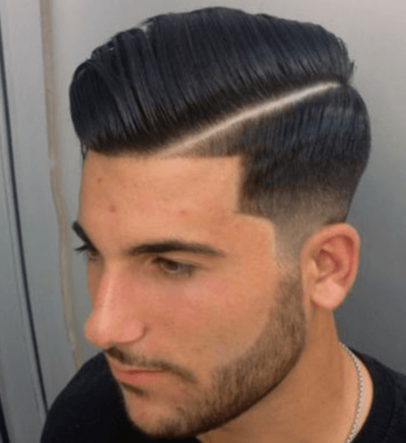 Side Combover Haircut