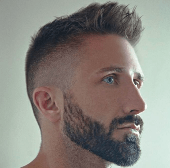 Spiked Style with Beard