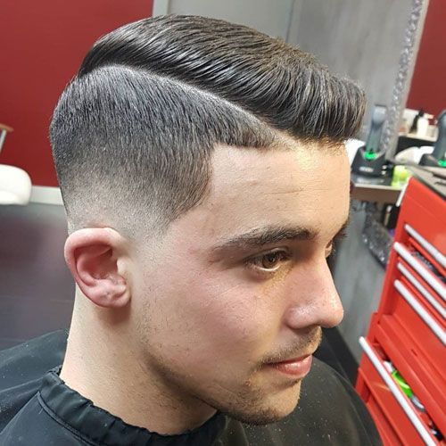Ivy League low Fade