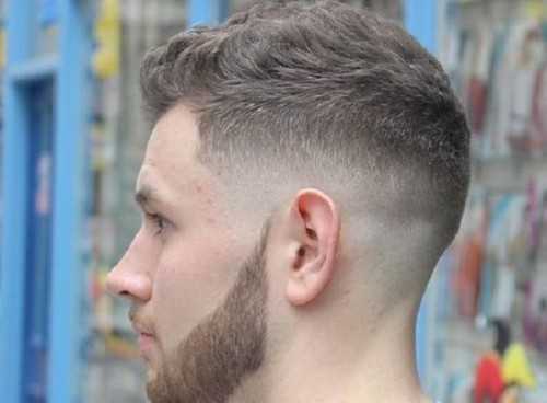 Ivy League mid Fade