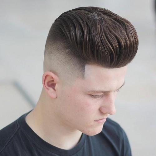 Pomp Ivy League haircut