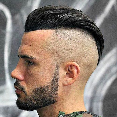 bald Fade Slick back
