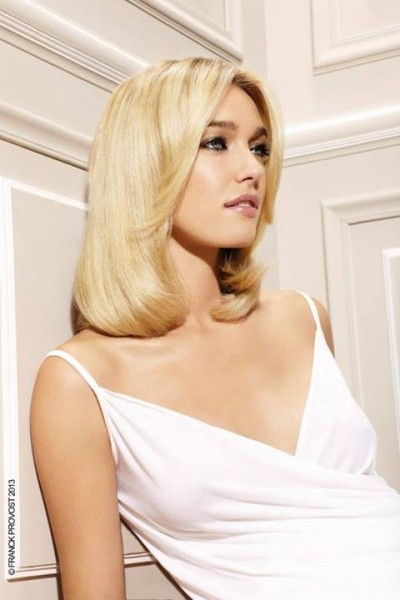 Medium Length Elegant Hairdo