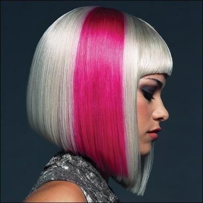 Pink on Platinum
