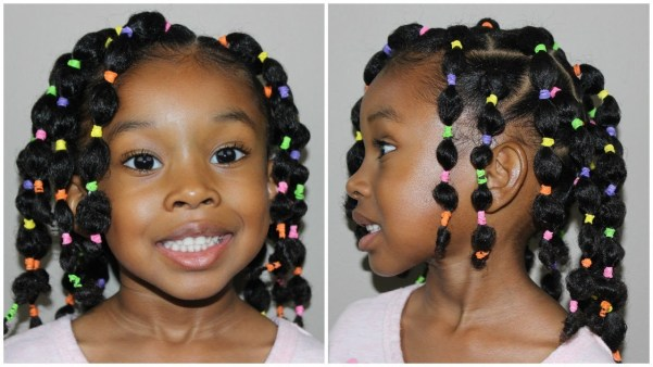 Bubble Ponytail Toddler