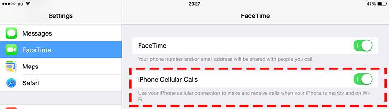 iPhone-電話転送-iPad-2