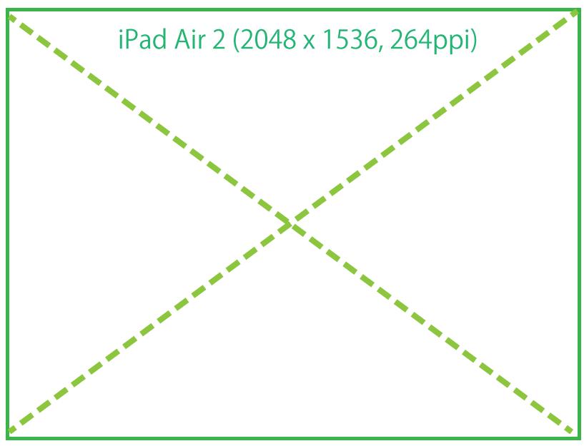 IPad Air 2解像度