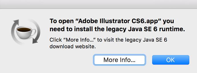 MacOS 10 13 Ai CS6インストール