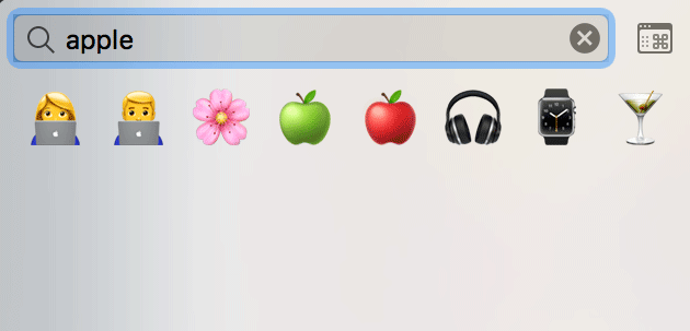 Macで絵文字 Emoji を一瞬で入力するショートカット 4