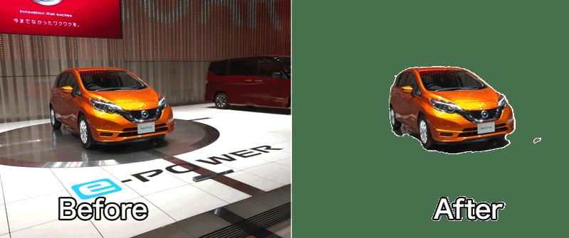 Adobe Photoshop CC 2018の被写体を選択がすごい 4