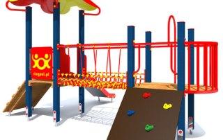 Plac zabaw dla dzieci - fiołek polny