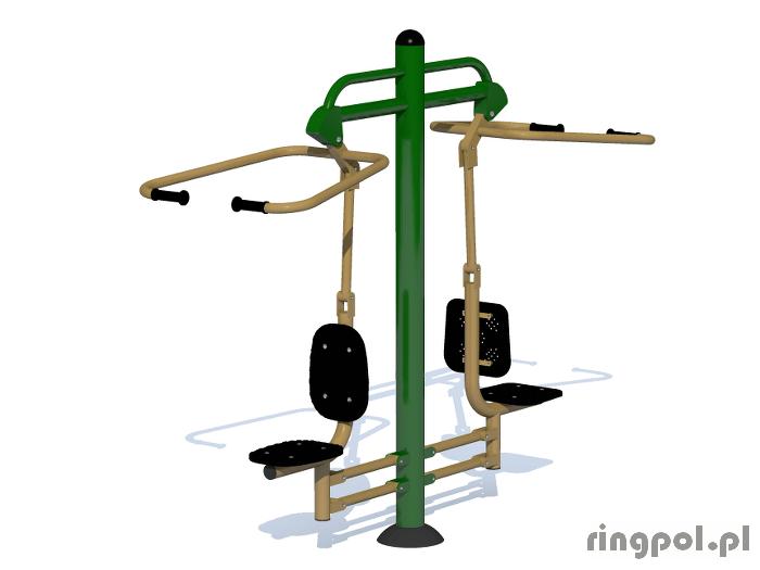 Siłownia zewnętrzna - Krzesełko do ściągania