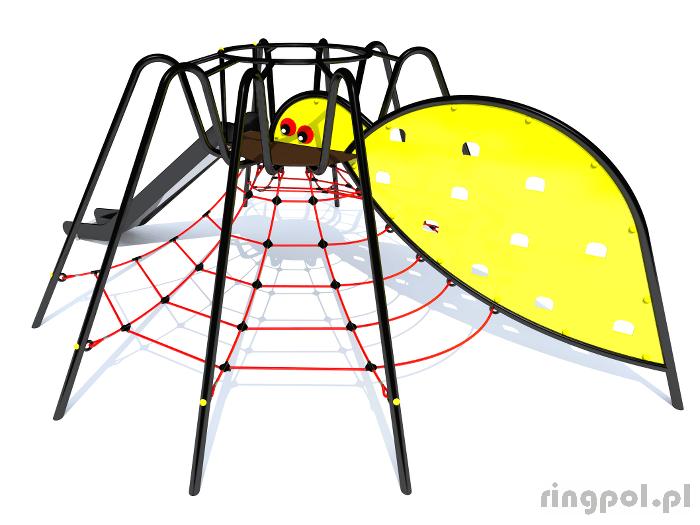 Tematyczny plac zabaw Pająk o03 - seria owady