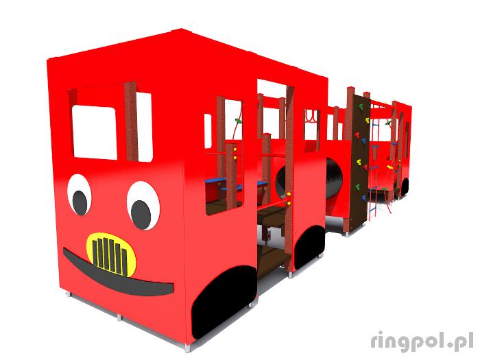 Plac zabaw dla dzieci - Autobus