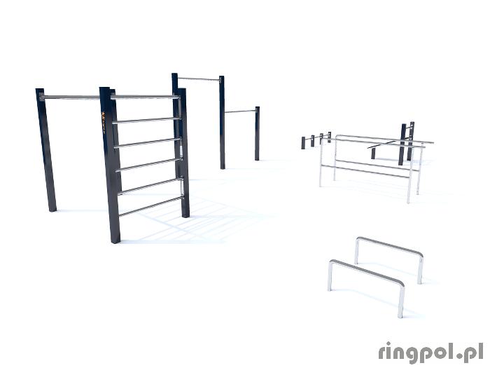 Zestaw do ćwiczeń workout Połonina