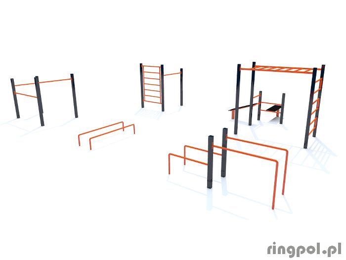 Zestaw do ćwiczeń workout Tołsta