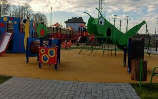 Plac zabaw Różan 2016