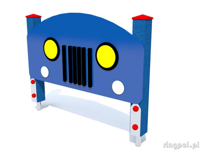 Ścianka edukacyjna samochód STE-03