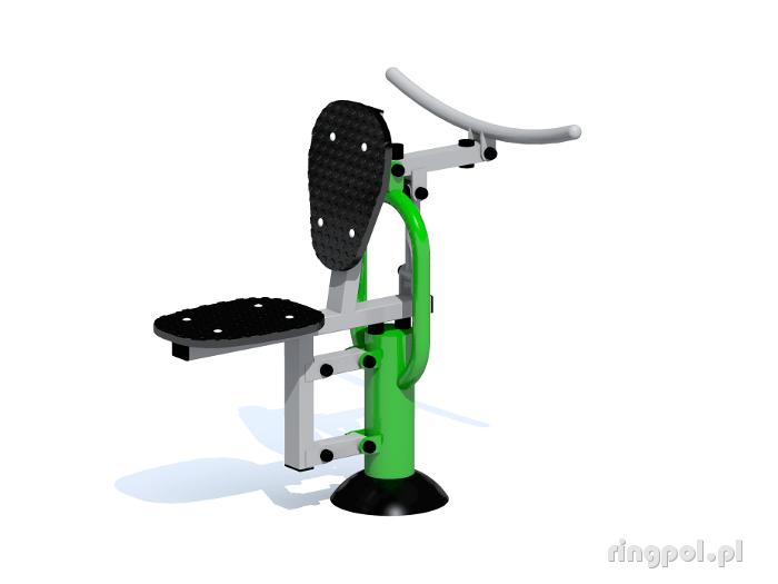Siłownia zewnętrzna Trenażer mięśni bicepsów ZPJ-45