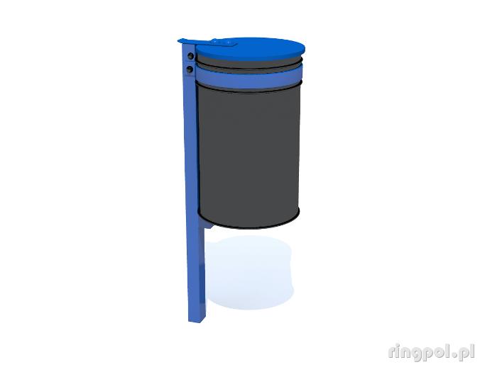kosz na śmiecie metalowy KsM