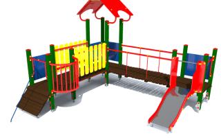 plac zabaw Lukrecja z017g