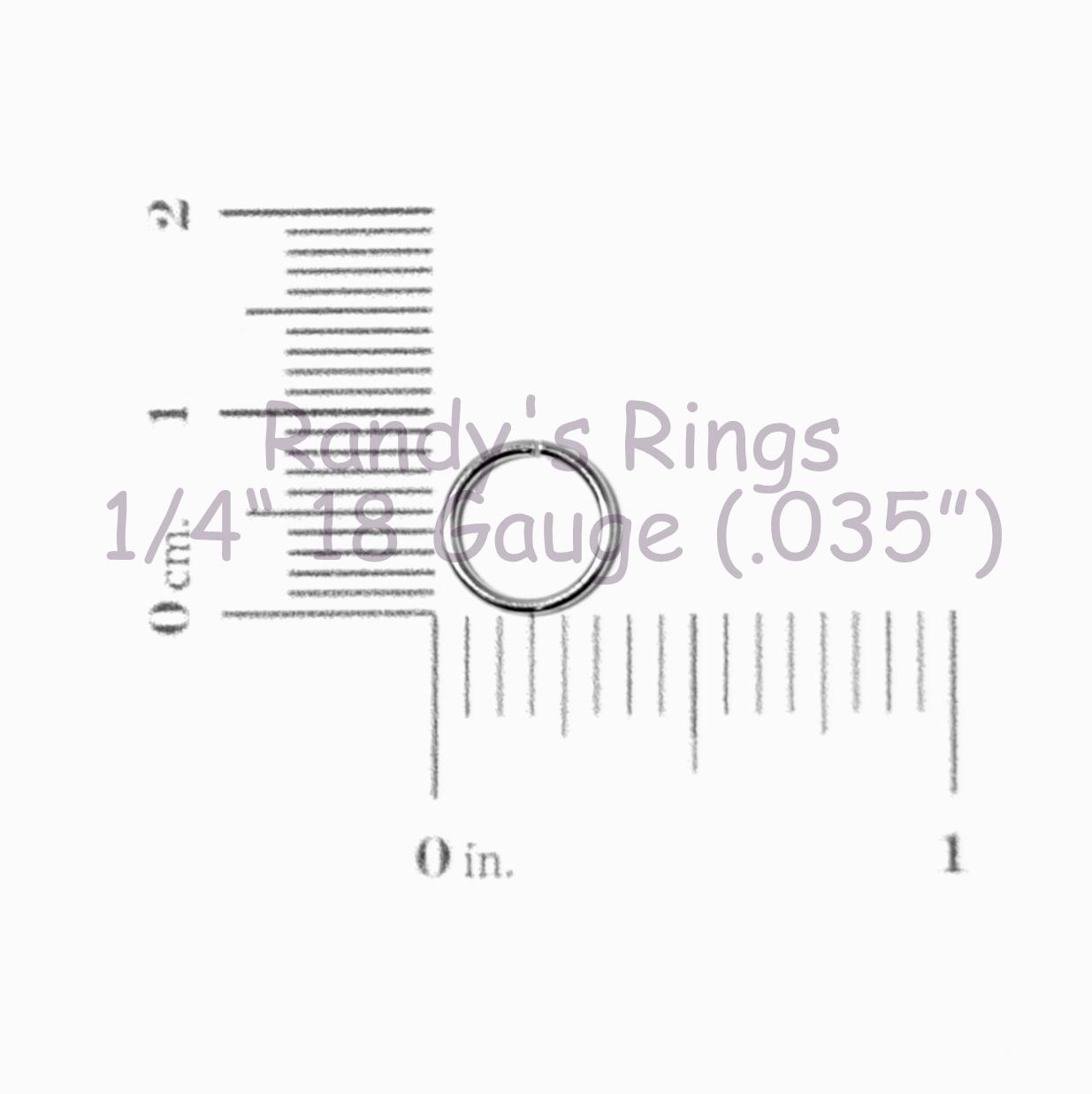 1 4 18 Gauge 035 Jump Rings