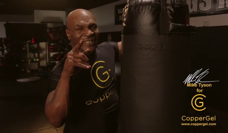 Mike Tyson launches knockout product for pain relief