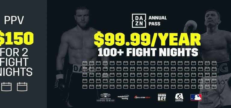 DAZN Adjust their pricing to cater for both MMA and Boxing fans with big savings and pay as you go