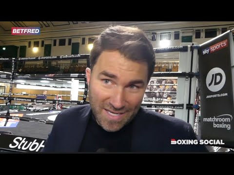 Eddie Hearn targets Ted Cheeseman vs Scott Fitzgerald bout for the end of 2019 on Sky Sports and DAZN