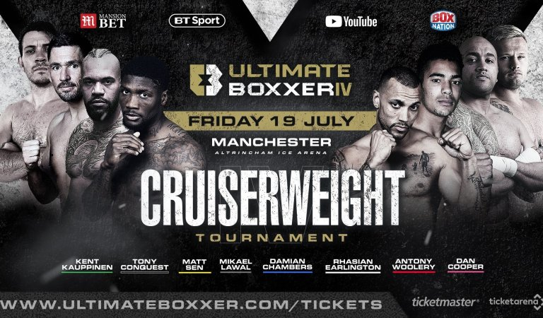 Tony Conquest aims to conquer Ultimate Boxxer IV