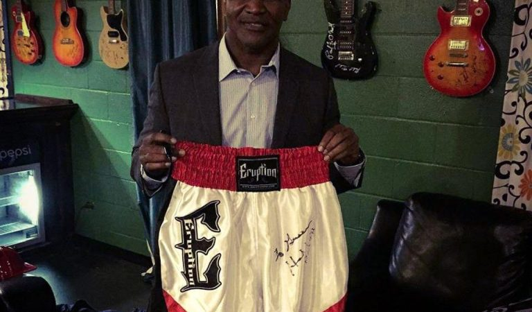 Gwen Legge brings boxing apparel to the masses with Eruption Boxing