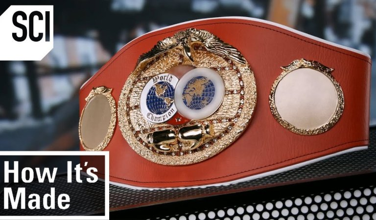 A Detailed Look At How Boxing Championship Belts Are Made