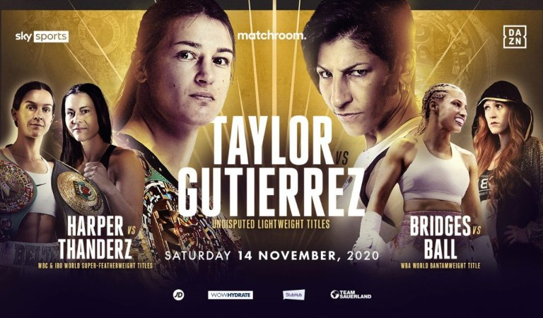 Taylor, Harper And Ball Star In Historic Blockbuster Night For Women's Boxing