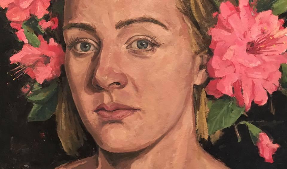 Ophelia Portrait of Kim Vega 2017