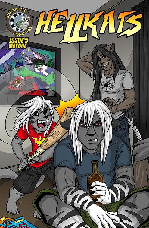 Hellkats Issue #5