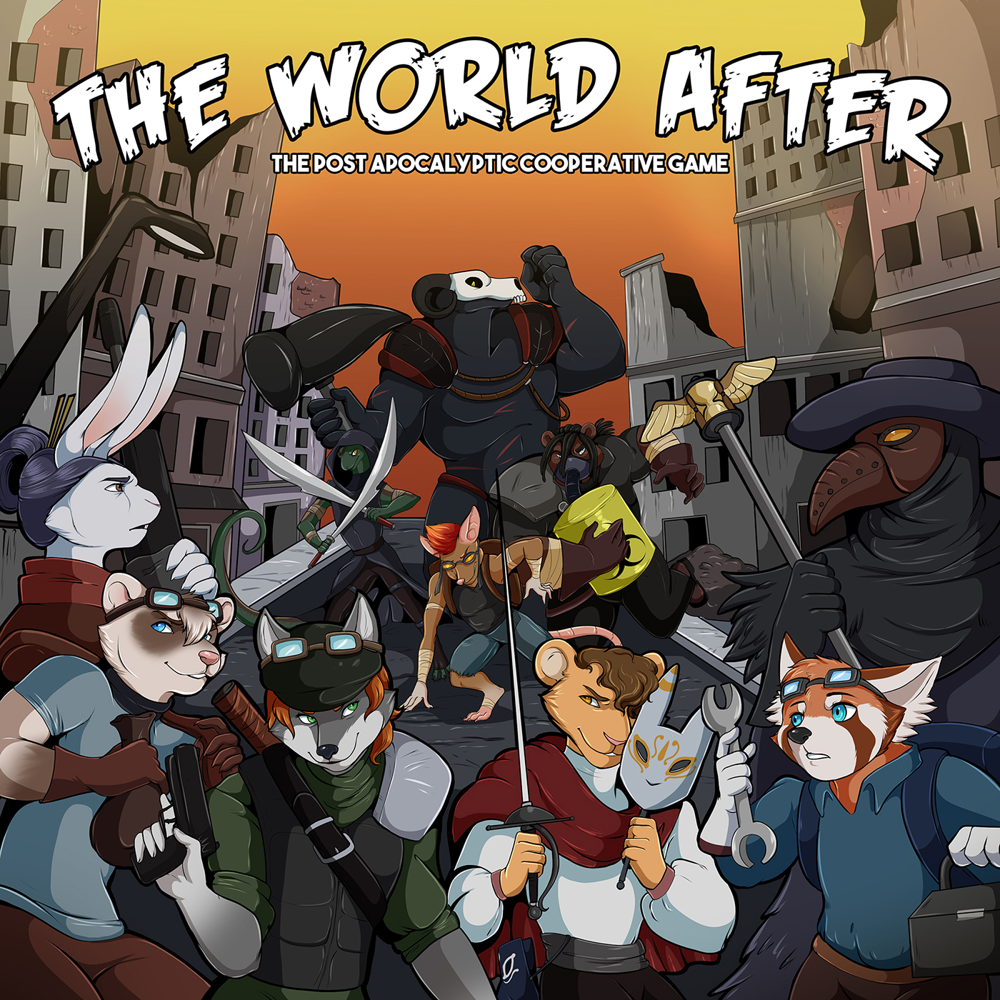 THE WORLD AFTER game premieres at Fur Reality 2017