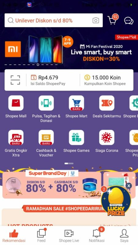 cara main shopee games