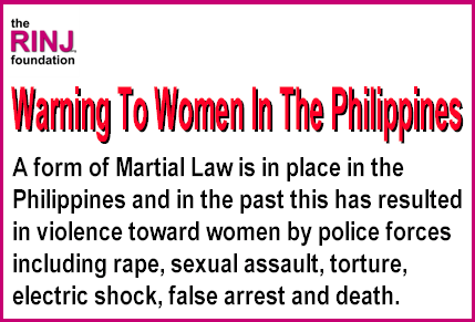 Warning issued by RINJ in 2016 when Duterte claimed a 'national state of lawlessness' giving police special powers.