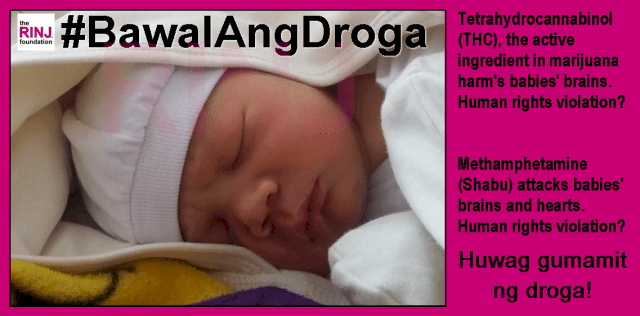 #BawalAngDroga