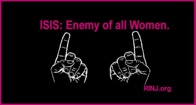 ISIS is the enemy of all women.