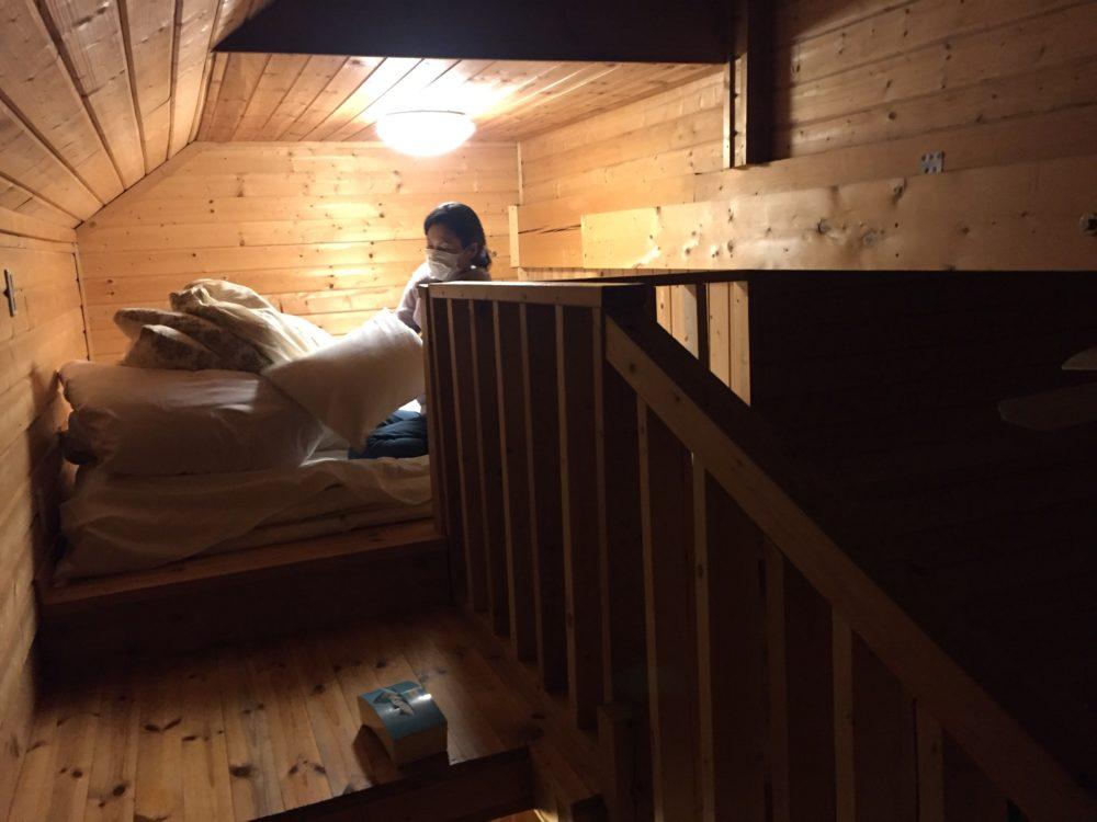 2階部分は寝室